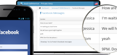 Using mSpy to Spy Facebook Messages